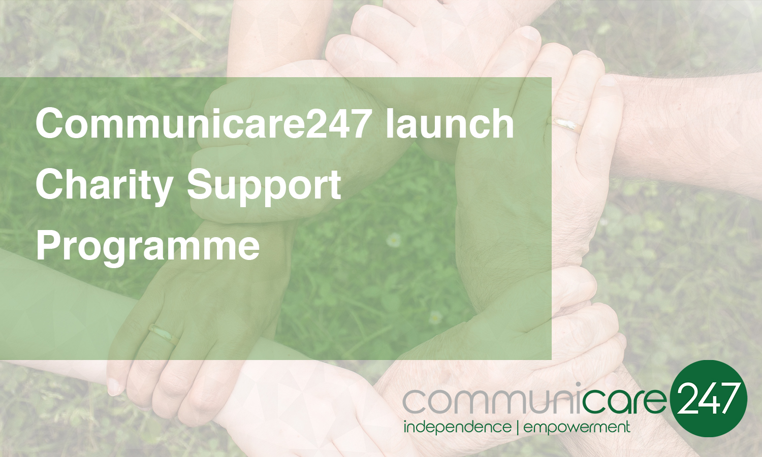 Communicare247 launch Charity Support Programme