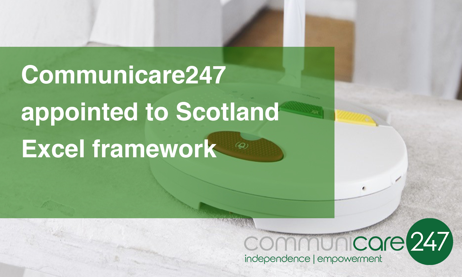 Communicare247 appointed to Scotland Excel framework