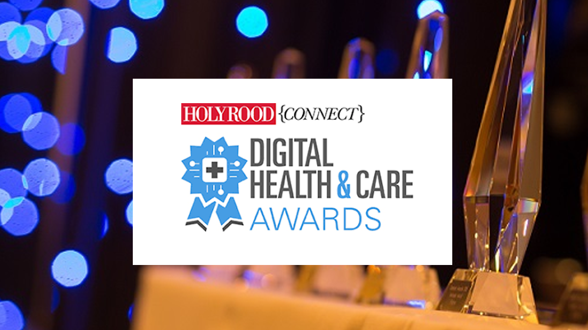 Holyrood Connect Health & Care Awards Banner